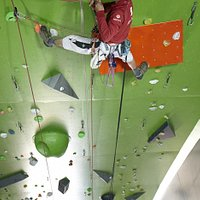 Tallest lead climbing wall in yorkshire