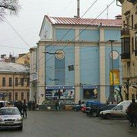 Chernivtsi Cinema - former Choral Temple