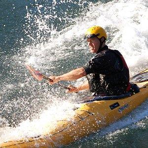 Skills classes in the regions tidal reversing falls.