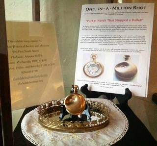 The pocket watch that caught the bullet
