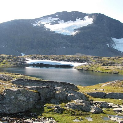 paysage route Sognefjellvegen Rv55