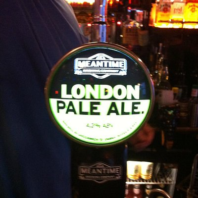 Meantime London Pale Ale - £4.30 a pint!