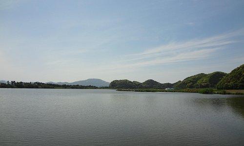 青海湖です。