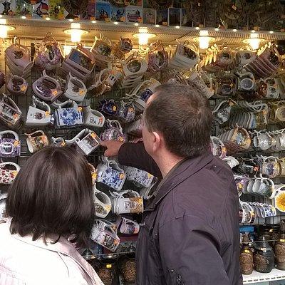 Selection of mugs