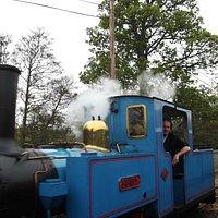 "Engine ""Bunty"" at Heatherslaw."