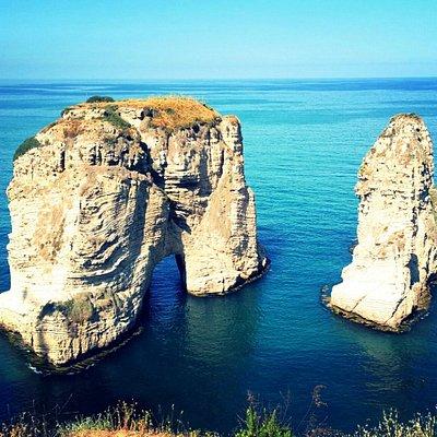 Pigeon rock, Beirut Lebanon