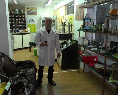 Mr Maris at work.