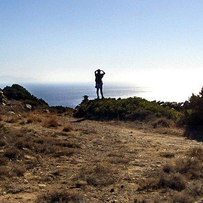 The view over Kastelovouni, Angeria