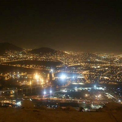 Cerro San Cristobal(Night view)