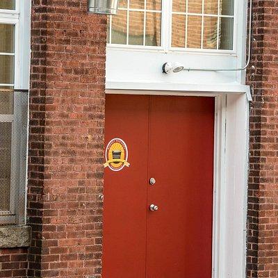 Front door on Carver Street