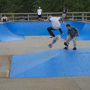 Waterville Valley Skateboard Park
