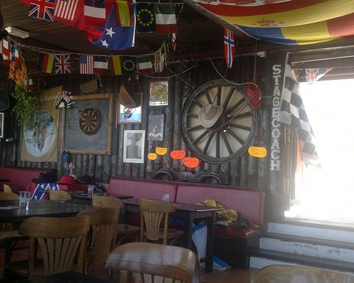Inside the Crazy Horse - quirky bar