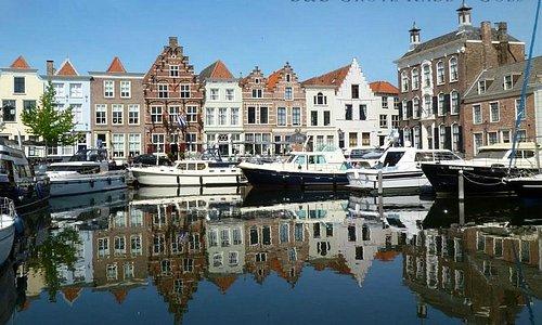 Romantic 16th century harbour