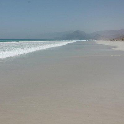 More than 5 km beautiful beach