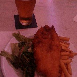 Fish & Chips & Carlton Draught