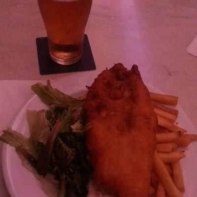 Fish & Chips & Carlton Draught