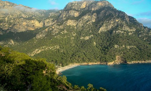 Another view of Kabak beach