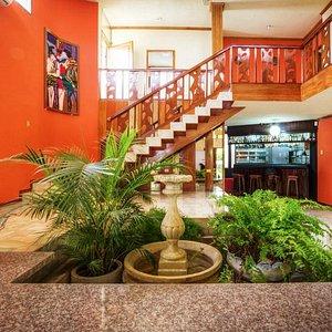 El area del lobby