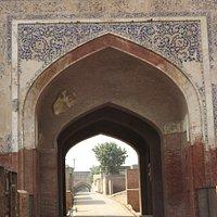 Entrance to the Serai