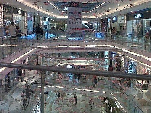 Quest Mall - an inside view