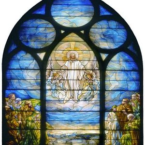 The Ascension Window by Tiffany.