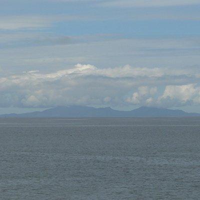 Uist views from the beach