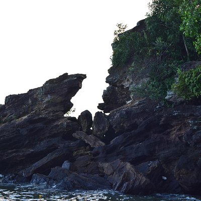 rugged stone of Banua Patra