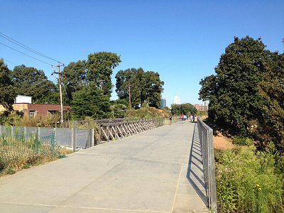 A weekday on the Eastside trail