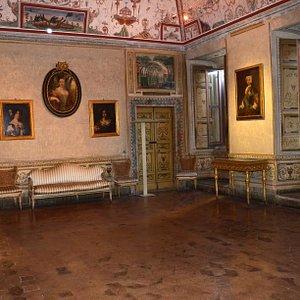 la sala delle Belle