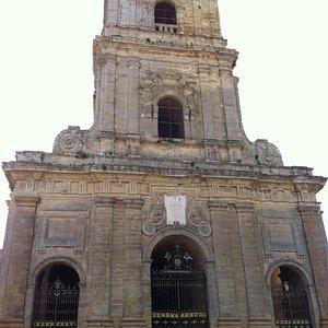 Facciata del Duomo di Enna