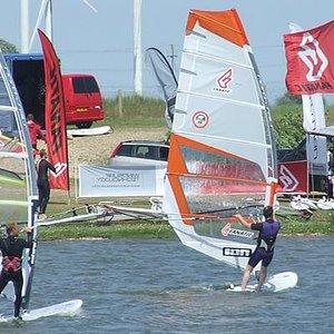 Windsurfing at Rye Watersports