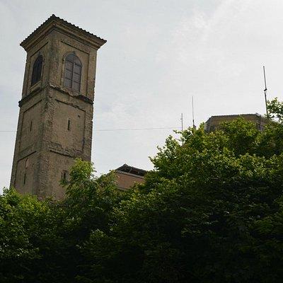 Monte delle Formiche - Sactuary tower
