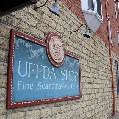 Uffda Shop in Red Wing.