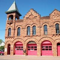 Historic Village of Calumet, MI Fire Station