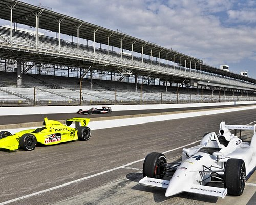 In the Pits, getting ready to drive, Indy Racing Experience, Indianapolis, IN