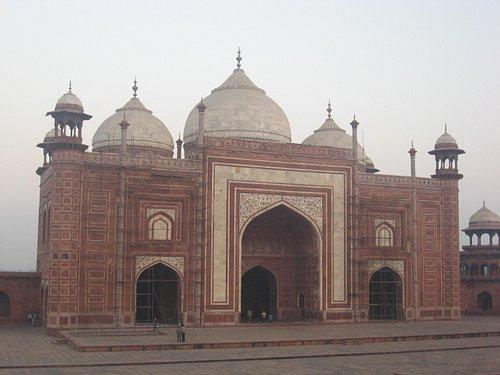 Mosque at the Taj
