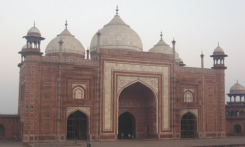 Mosque at the Taj