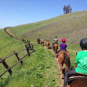 Natural trails surround the ranch--you can ride straight from the ranch into the hills!