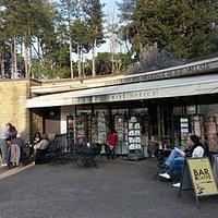 L'esterno del centro turistico