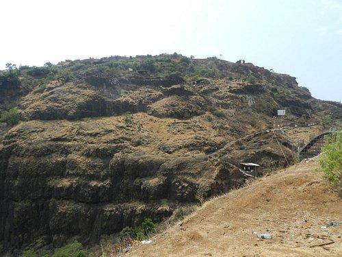 Vishalgad - Only accessible side of fort