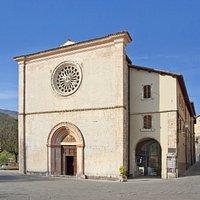 Facciata della chiesa di San Francesco, Cascia