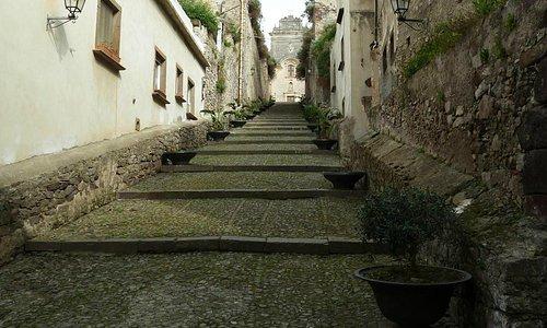 Treppe zur Festung