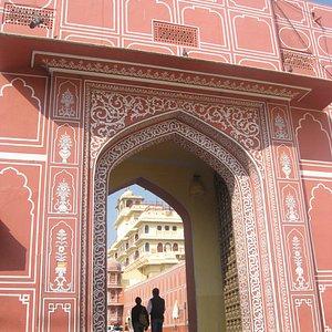 Entrance to the royal palace
