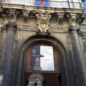 Ingresso del Museo Nazionale di Antropologia e Etnologia