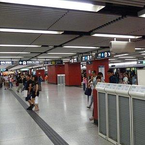 Hong Kong Station - MTR station