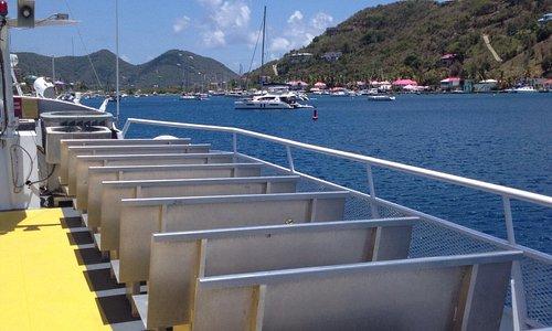 Ferry to Virgin Gorda