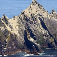 Small Skelligs  home to the second largest colony of Gannets in the world