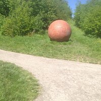 Brick ball at holmebrook valley park