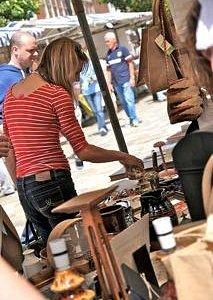 Mooch around the stalls
