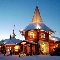 Chrismas Exhibition in Santa Claus Holiday Village in Rovaniemi, Finland